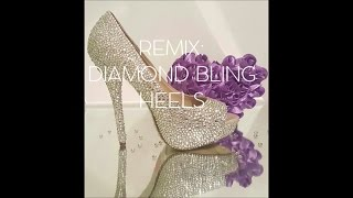 REMIX | DIAMOND BLING BRIDAL HEELS