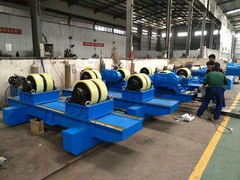 Heavy industry welding rotator introduced by Sunny from Bota factory