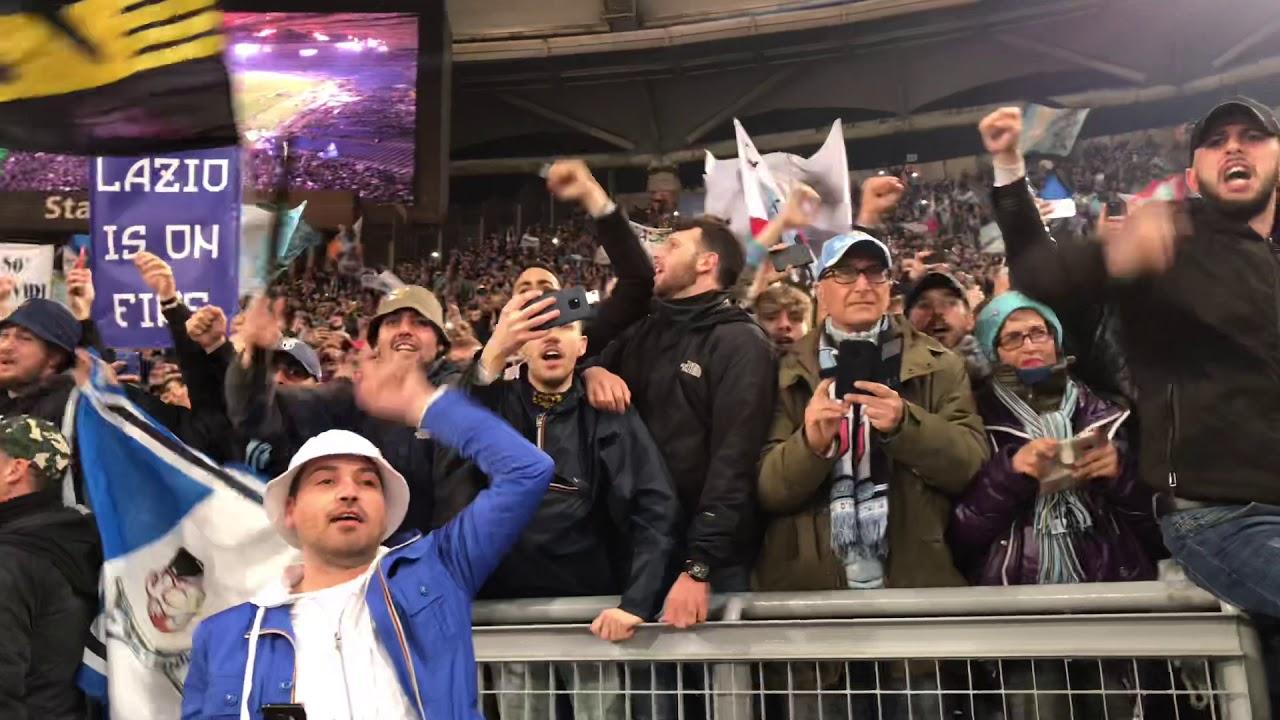 Curva Nord Lazio Coppa Italia 2019 Youtube