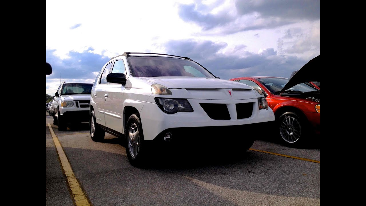 hight resolution of 2003 pontiac aztek start up quick tour rev with exhaust view fugly 87k