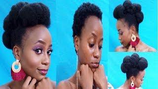 """Kubana nywele Fupi """"Hakuna Matata Style"""" (short natural hair Style Hakuna Matata)"""