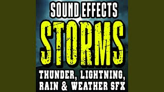 Distant Thunder Rumble, Soft Rain, Thunderstorm Build Up screenshot 3