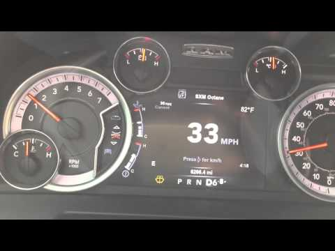 2015 Ram R/T: How To Turn Off MDS