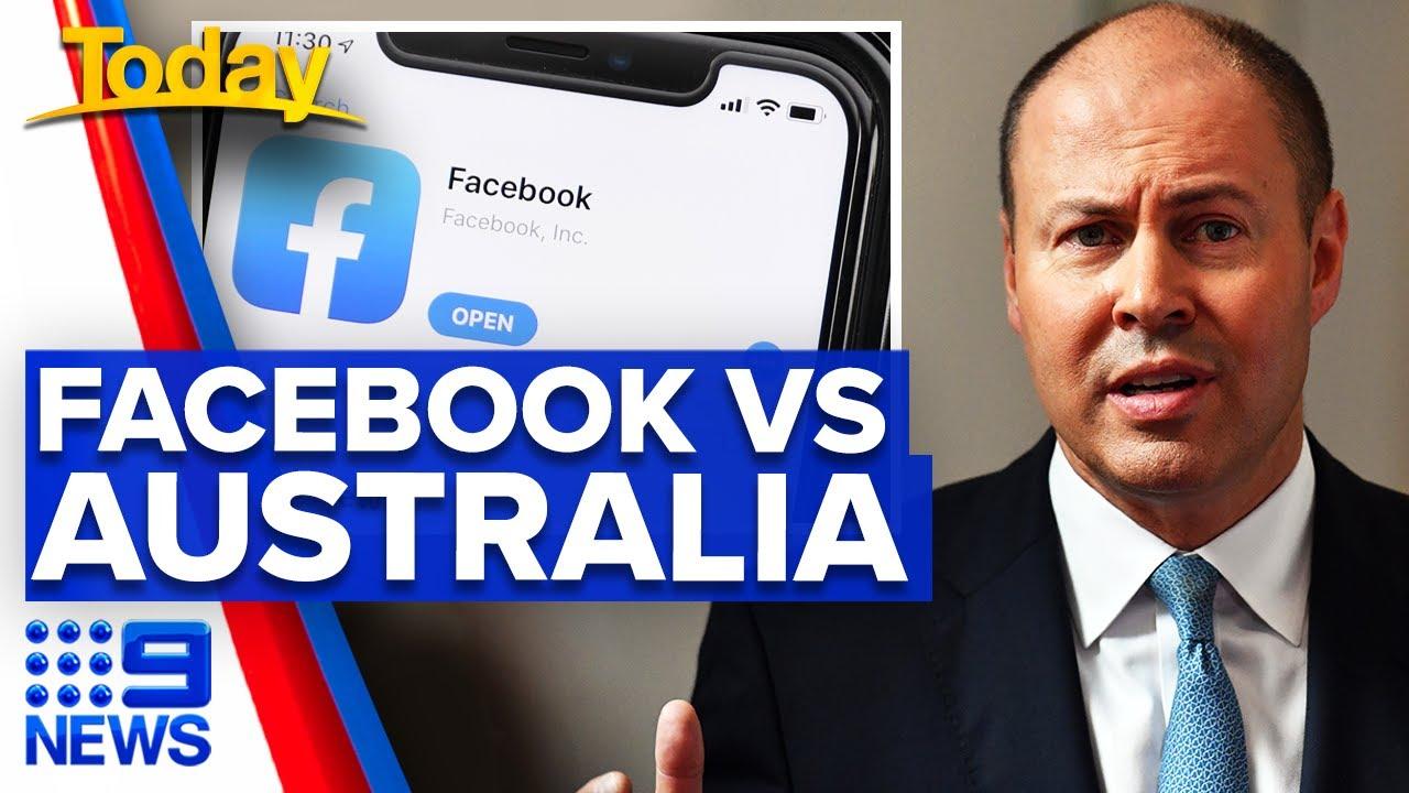 Tensions rise between Facebook and Australia | 9 News Australia