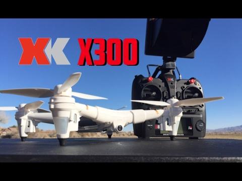xk x300-F 5.8ghz fpv optical + barometric hold rc quadcopter
