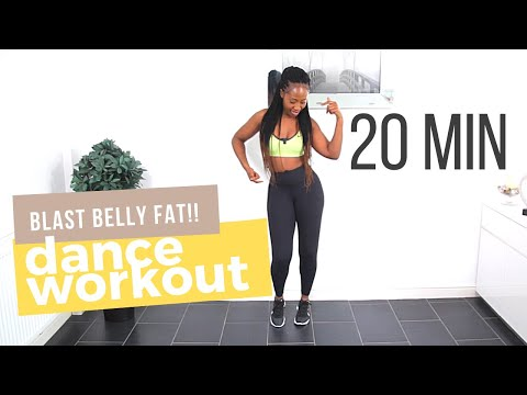 Dance Workout Routine to Lose Belly Fat | 20-Min African Dance Cardio