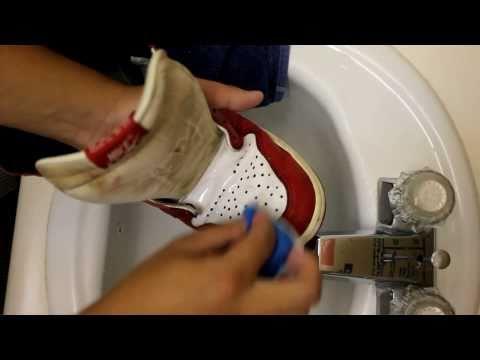 Restoration Part 1: General Shoe Cleaning (AJ1 1994 Retro)