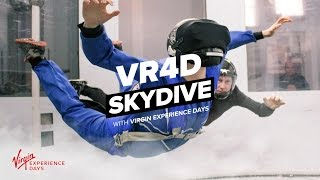 VR4D Skydive with Virgin Experience Days Launch