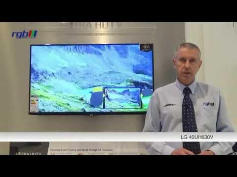 LG 40UH630V Ultra HD 4K Smart LED TV