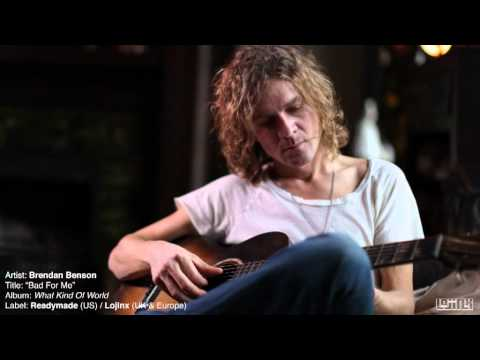 Клип Brendan Benson - Bad for Me