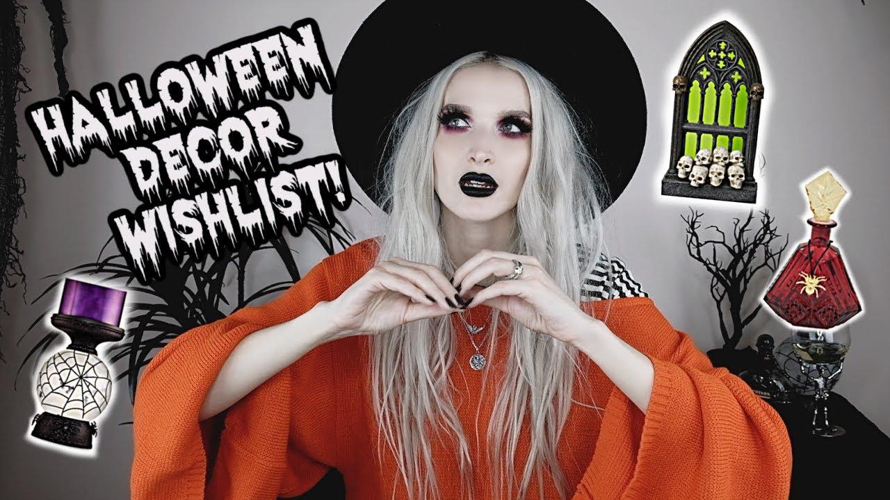 Halloween Decor Wishlist 2020