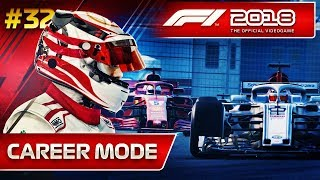 F1 2018 Career Mode Part 32: PUSHING THE TYRES TO THEIR LIMITS