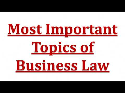 Most Important Topics of CA IPCC Business Law and Tips on How to Prepare for Law Exam