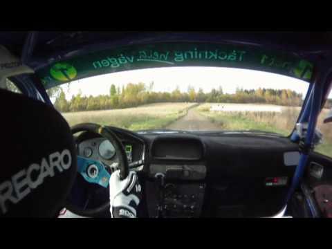 Pontus Tidemand SS3 KMK-Trofén Rally SM 2011