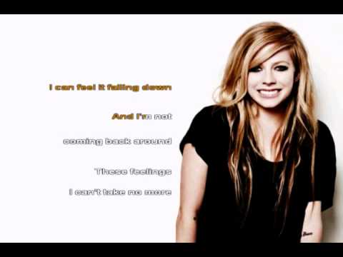 Avril Lavigne-Remember When (KARAOKE INSTRUMENTAL with LYRICS ON SCREEN)