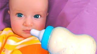 Canción de Cuna para bebes | Canción Infantil | Canciones Infantiles con Katya y Dima