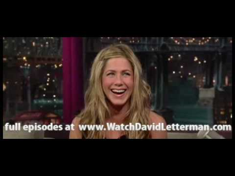 Jennifer Aniston in Late  with David Letterman 20100702