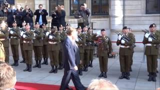 Visite de François Hollande au Luxembourg