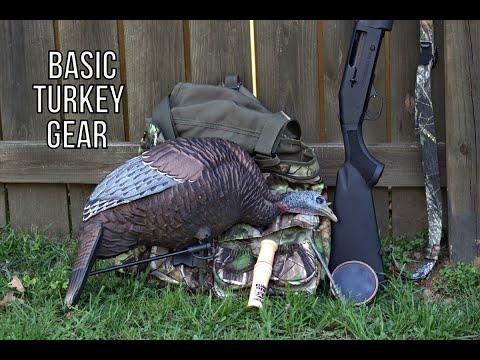 Basic Gear For New Turkey Hunters