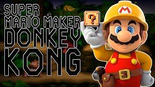 SUPER MARIO MAKER: DONKEY KONG !