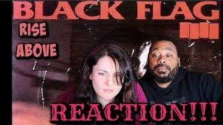 BLACK FLAG Rise Above Reaction!!