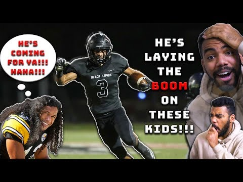 Troy Polamalu's Nephew Is *FASTER* And *MORE AGGRESSIVE* Than He Was!!! | Sharpe Sports