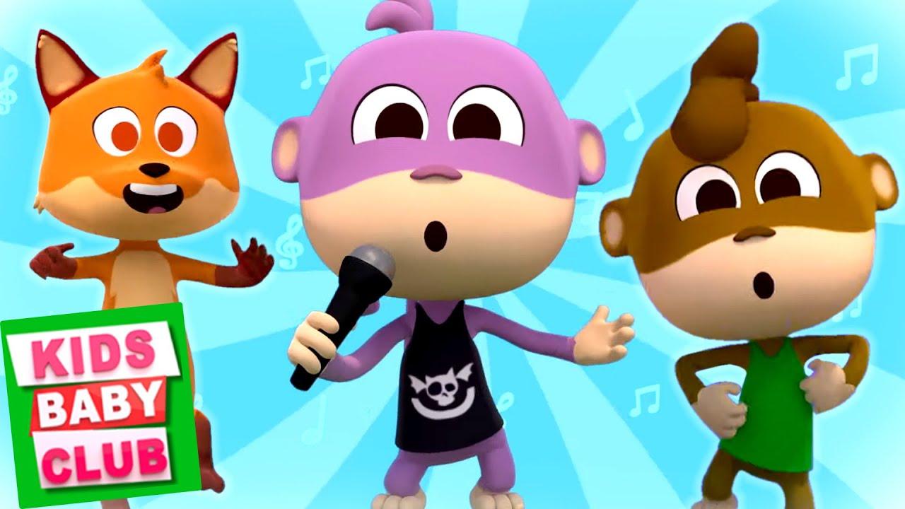 Chulo The Monkey Nursery Rhymes And Kids Songs - Kids Baby Club