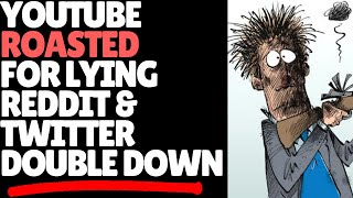 Youtube INSTANTLY Regrets Tweet! Twitter & Reddit  Double Down