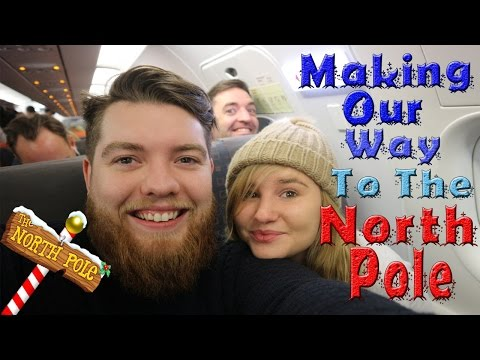 Kelly & Carly Vlogs : LITTLE KELLY GOES TO THE NORTH POLE! #1