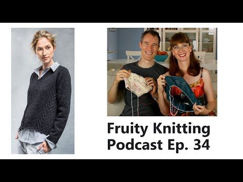 Veronik Avery - Ep. 34 - Fruity Knitting Podcast