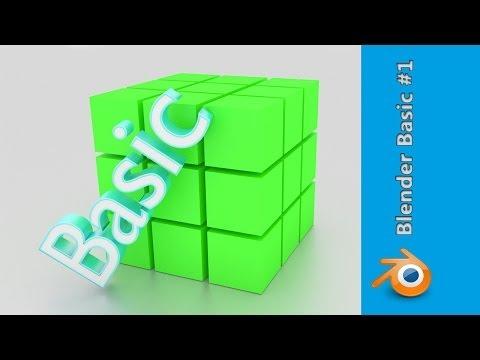 Blender Basic #1 - Grundlagen Tutorial [deutsch]