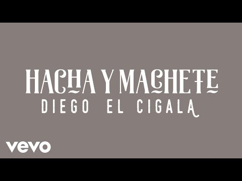 Diego El Cigala - Hacha y Machete (Cover Audio)