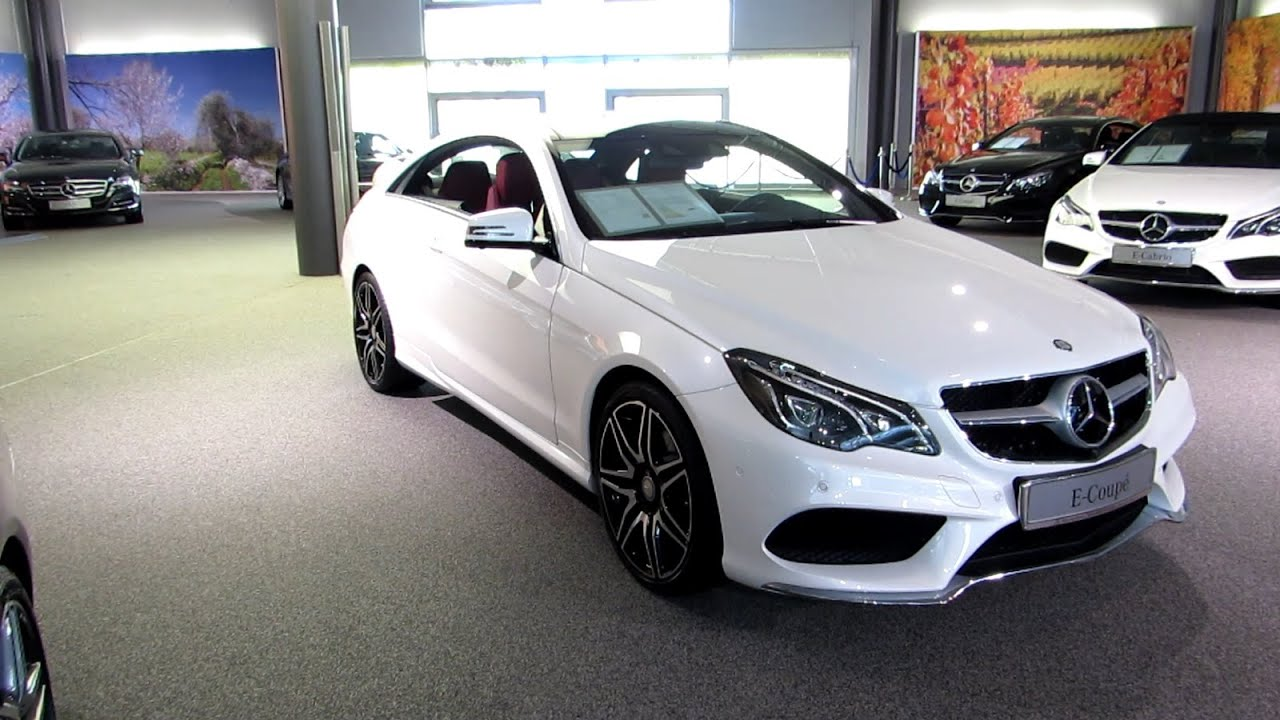 2015 mercedes e 350 coupe amg sport package youtube. Black Bedroom Furniture Sets. Home Design Ideas