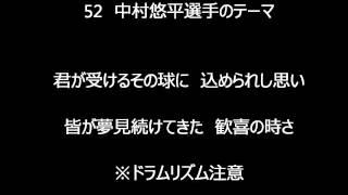 東京ヤクルトスワローズ 52中村悠平選手のテーマの実録版音源です。 企...