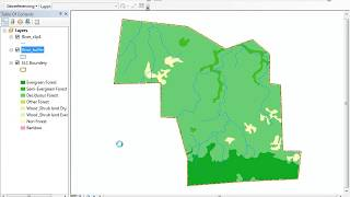 How to Clip and buffer in Arcgis របៀបClipនិងbuffer ក្នុងarcgis