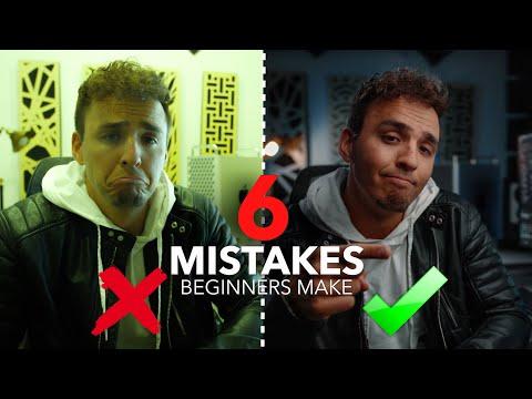 6 Mistakes Beginner Filmmakers Make