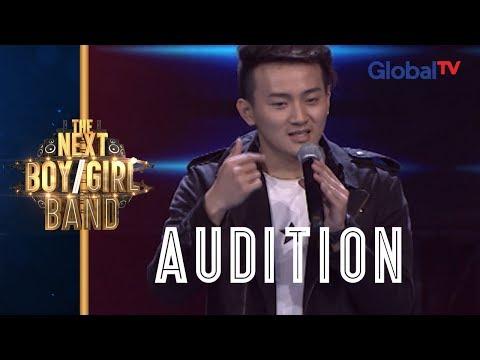 Steven Sings Eyes, Nose Lips (Taeyang) I The Next Boy / Girl Band GlobalTV