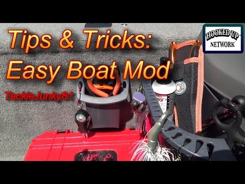Bass Fishing Tips & Tricks: Easy Boat Mod (TackleJunky81)