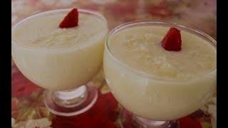 Sobremesa de Tapioca Granulada Deliciosa