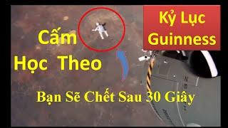 Cú Nhảy Định Mệnh Ở Độ Cao 39km Của Felix, Kỷ Lục Guinness