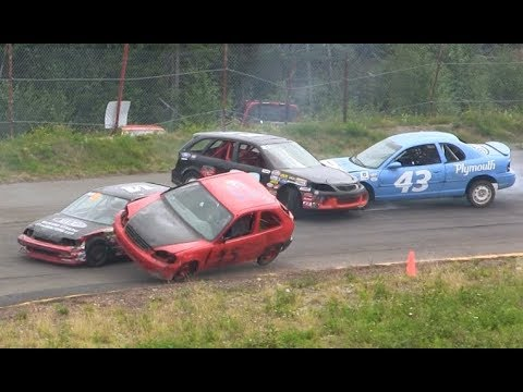 Thunder Valley Speedway - Hobby Stock Qualifying & Race #5