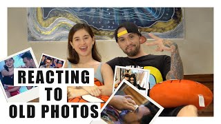Reacting to Old Photos || 2nd Wedding Anniv! || Billy and Coleen