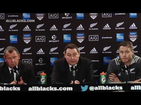 REACTION: All Blacks press conference