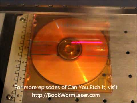 Can You Etch It - Laser Engraved CD Jewel Case