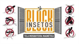 Block Insetos - Apresentação do Produto Tela Mosquiteira Magnética