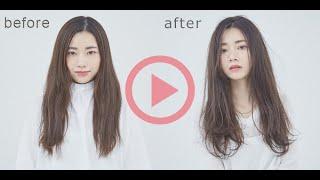 髪質を見極めたシンプルな薬剤選定@美容師向けヘアカラー動画