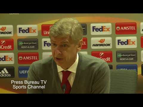 Arsene Wenger pre Arsenal vs Chelsea