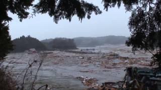 東日本大震災 南三陸町伊里前湾大津波