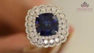 The Making of EMPRESSE Diamond & Gold Ring