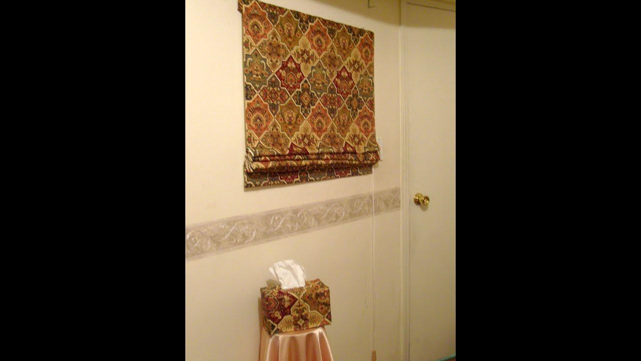 C mo hacer una cortina romana parte 3 3 la receta de la for Como poner ganchos de cortinas